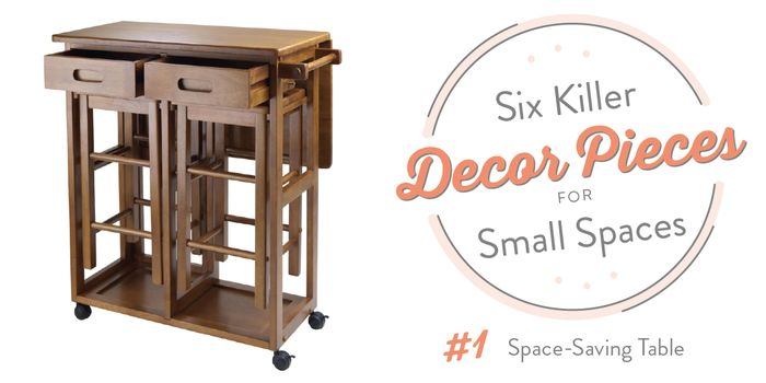 6 killer decor pieces for small spaces small spaces spaces and small space furniture