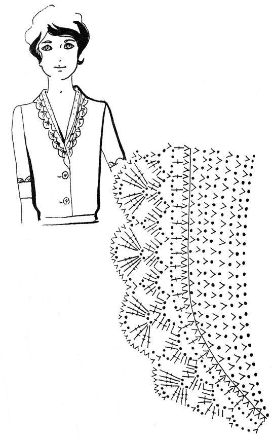 Mustrilaegas: Kraed ja kaelaaugud / Collars and necklines