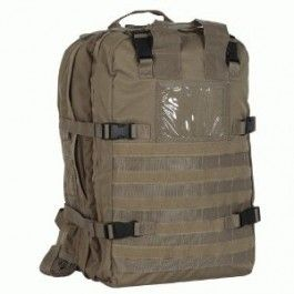 VOODOO TACTICAL DELUXE PROFESSIONAL SPECIAL OPS FIELD MEDICAL PACK COYOTE