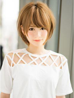 アフロートジャパン(AFLOAT JAPAN)AFLOAT『菅谷』愛されふんわり小顔ショートヘア♪