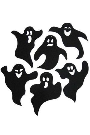 Ghost Paper Wall Deco (ゴースト ペーパー 壁飾り)【ハロウィングッズ・コスチューム】【802456】