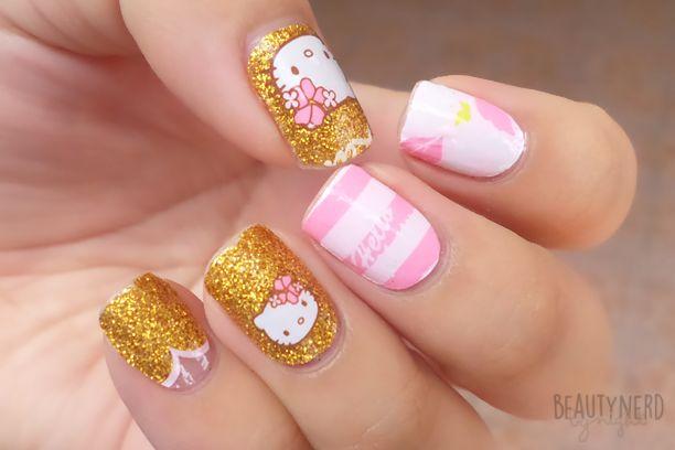 LOVE NAIL Hello Kitty Nail Wraps
