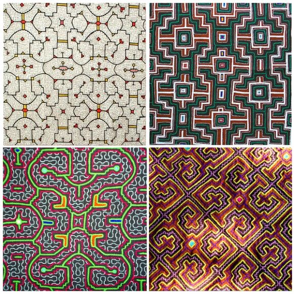 Shipibo | Patterns from Shipibo textiles are nonlinear artifacts of ayahuasca…