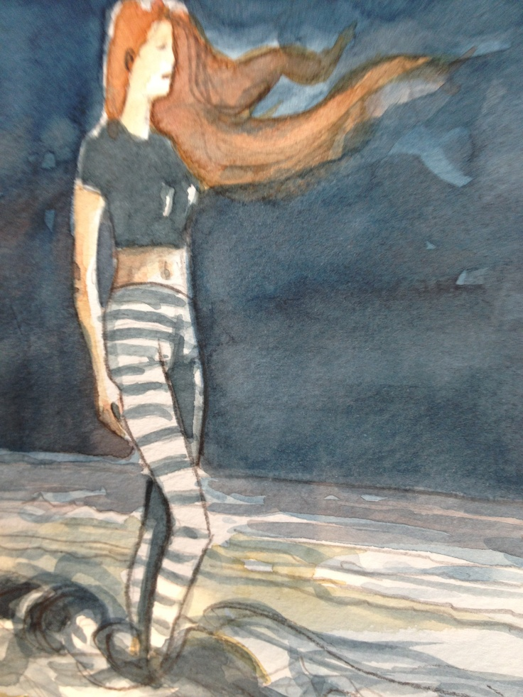 Da Luca Russo una fantastica donna coi capelli mossi dal vento #donne #amore #mare