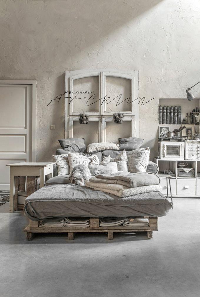 Industrieel chique slaapkamer door Paulina Archklin | Slaapkamer ideeën