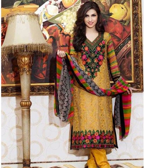 Tawakkal Embroidered Suit Verve Fancy Collection 3011_A