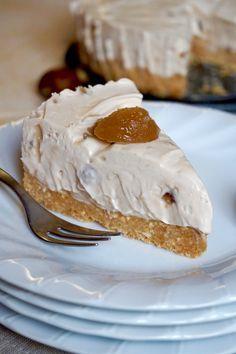 CHEESECAKE ALLE CASTAGNE, SENZA COTTURA Cercate un dolce Cremoso, Facile e Senza Cottura perfetto per l'Autunno? Il Cheesecake alle Castagne, senza Cottura