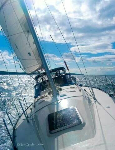 Sailing Away..