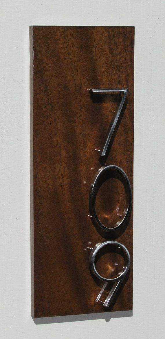 17 Best Images About Modern Address Plaques On Pinterest