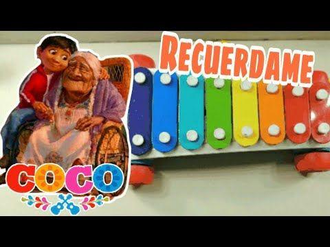 Tutorial Facil De Como Tocar Recuerdame De Coco En El Xilofono Remember Me Coco On A Xylophone Youtube Xylophone Fisher Price Fisher