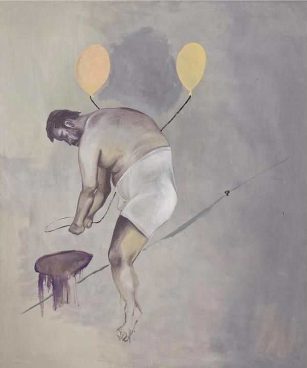 Martin Kippenberger, 1988: Kippenberg Rocks, Contemporary Artists, Oil On Canvas, Google Search, Martin 19531997, Martin Kippenberg, Art Artists, 1988 Untitl, Martinkippenberg