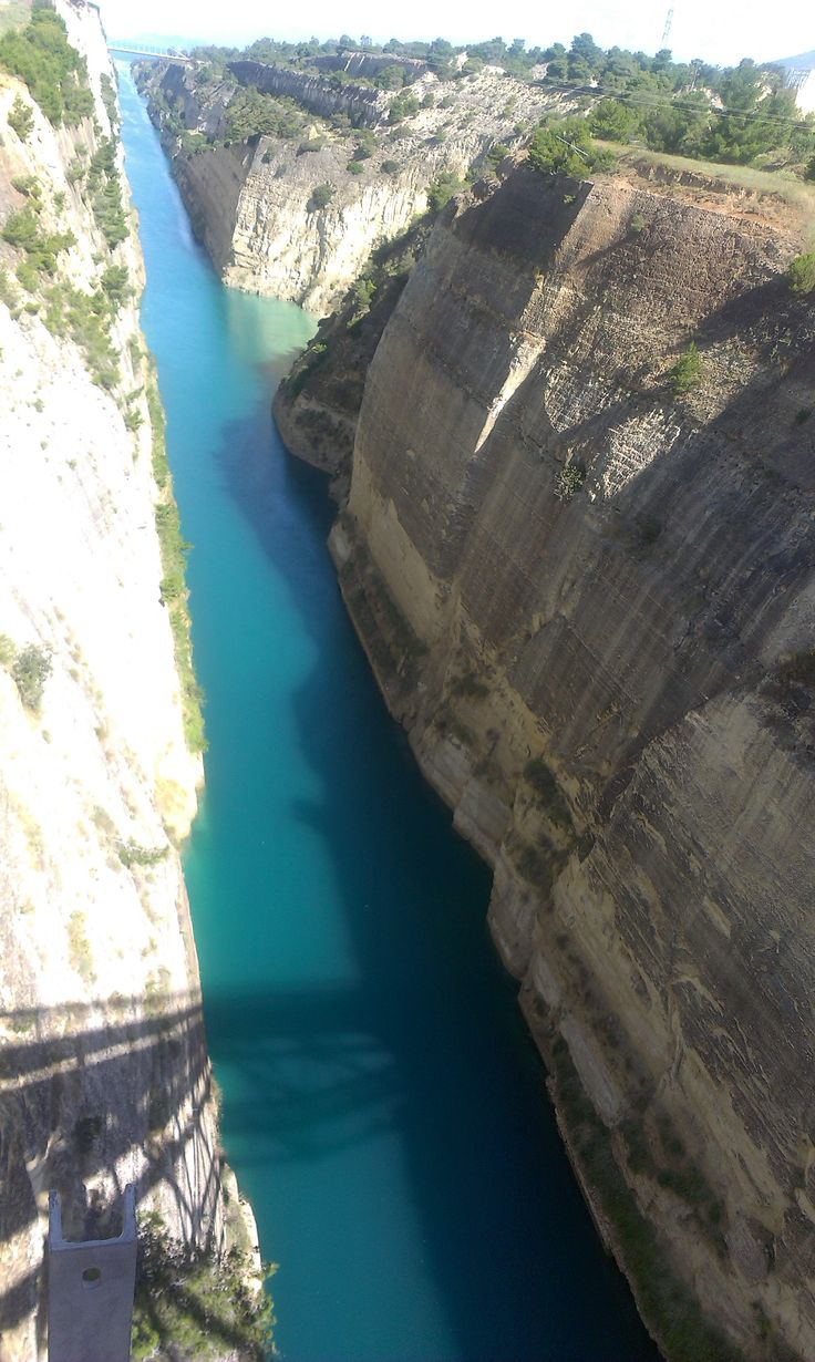 View from Mainland Greece wall_amazing greenish blue waters