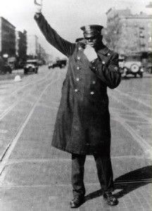First African American Police Officer was Wiley G. Overton. He was sworn in by the Brooklyn Police Department on March 6, 1891. (I believe this photo is of another officer.)