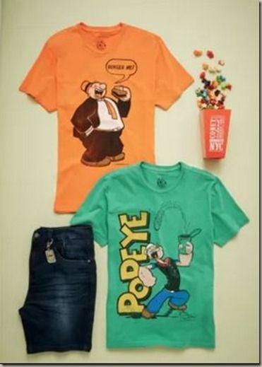 Coleção da Ellus Second Floor com o Popeye. -  WestinMorg / Blog de Moda Masculina e Variedades