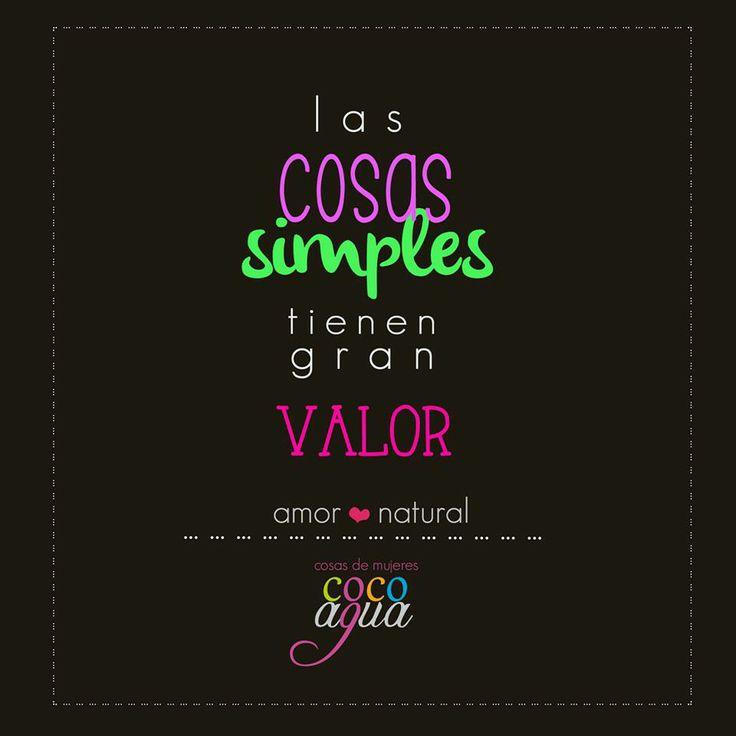 simple, natural <3
