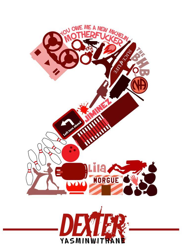 yasminwithane:  Dexter Season 2 Collage SEASON 1 Collage
