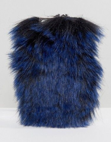 Skinnydip Faux Fur iPhone 6/6S Case at asos.com