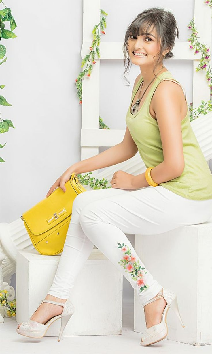 Buy White Printed Legging at Discounted Prices - LEPRPY604-WHITE