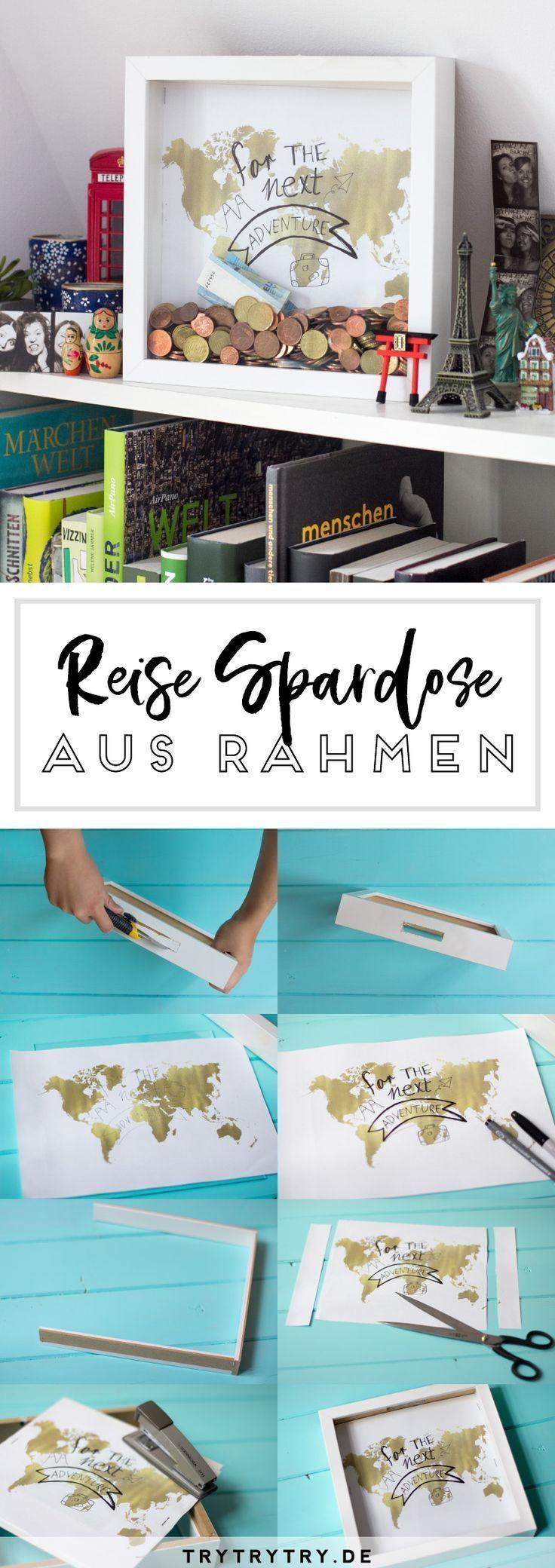 DIY Reise-Sparbüchse DIY Reise-Sparbüchse Die Post DIY Reise-Sparbüchse ersch…