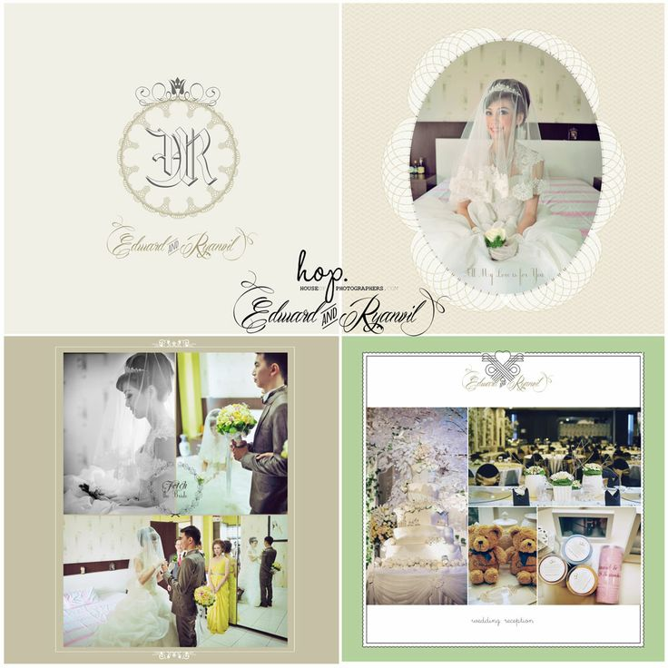Edward & Ryanvil Wedding Photobook Design, photo by HOP, edit & design by Wenny Lee