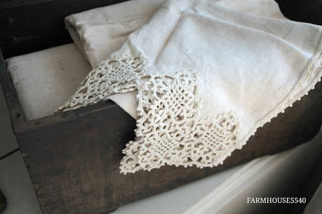 FARMHOUSE 5540: Farmhouse Inspiration ~ Vintage Linens