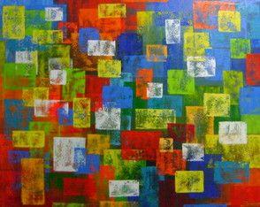 Pintura Abstrata Painel 70x90 Cod 968