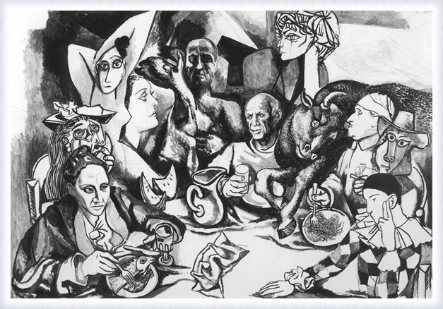 Renato Guttuso, Picasso and his characters