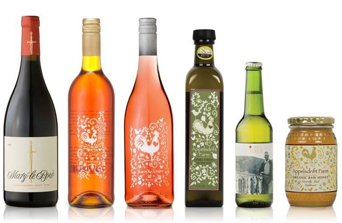 Year of the Rooster rosé, made from Touriga Francesca, The Drift Farm, South Africa. Not yet in UK, made by the fabulous Bruce Jack