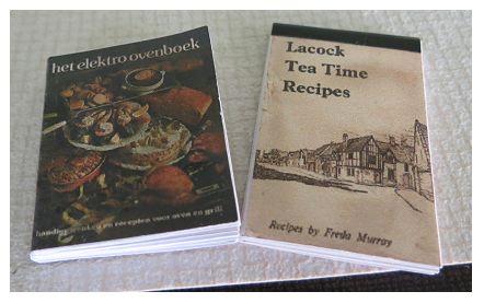 kookboeken miniatuur cookbook miniature