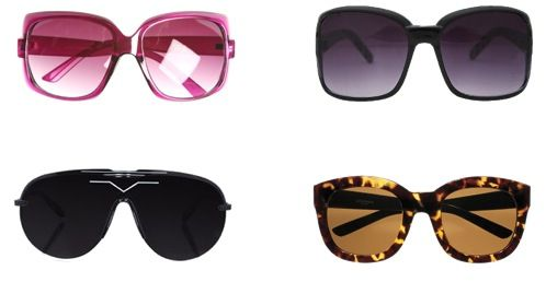 How to Buy Sunglasses That Flatter Your Face...yes, not everyone should be wearing aviators...ugh