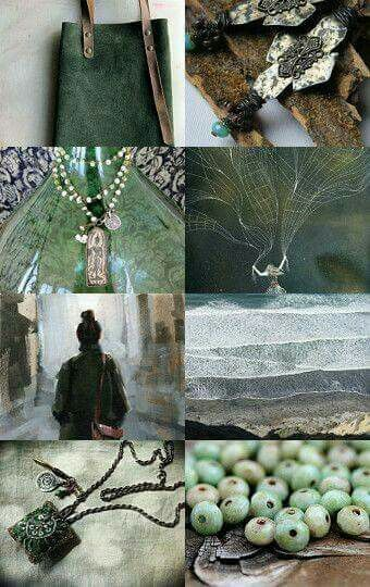 Beautuful......green and grey
