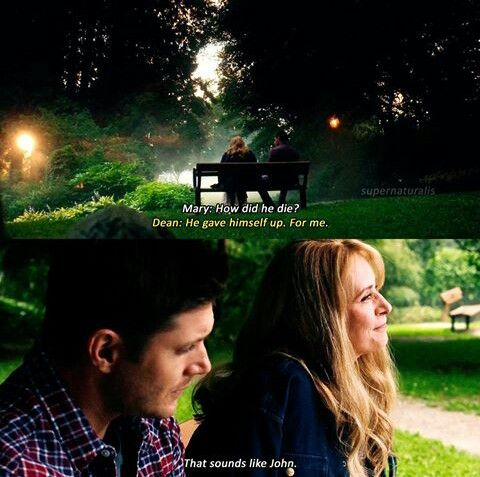 Dean and Mary - Supernatural 12x01