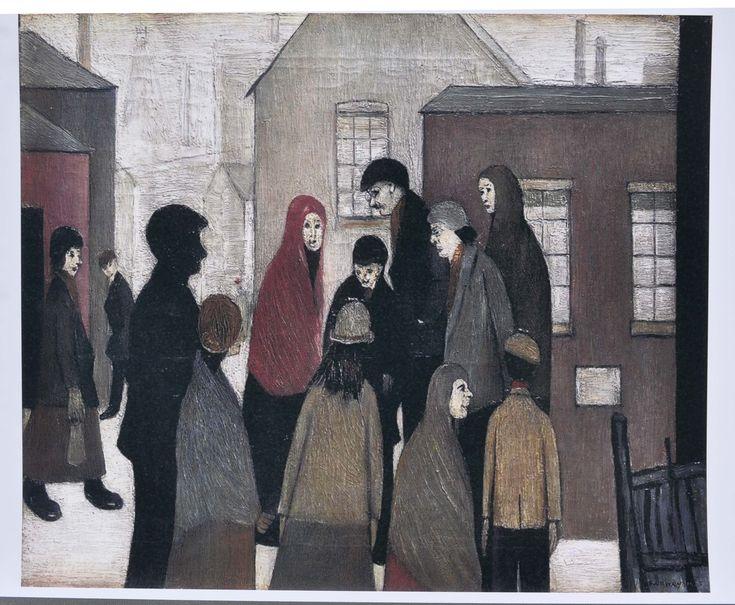 Pit Tragedy, 1919 - L S Lowry