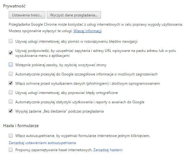 Ludzie od siebie się różnią - nie tylko progiem wrażliwości na naruszenia prywatności, ale także poziomem umiejętności technicznych. Pokazujemy, jak zmienić ustawienia Chrome i Chromium, aby nasze dane były lepiej chronione (http://di.com.pl/jak-dbac-o-swoja-prywatnosc-i-bezpieczenstwo-korzystajac-z-google-chrome-lub-chromium-52835)