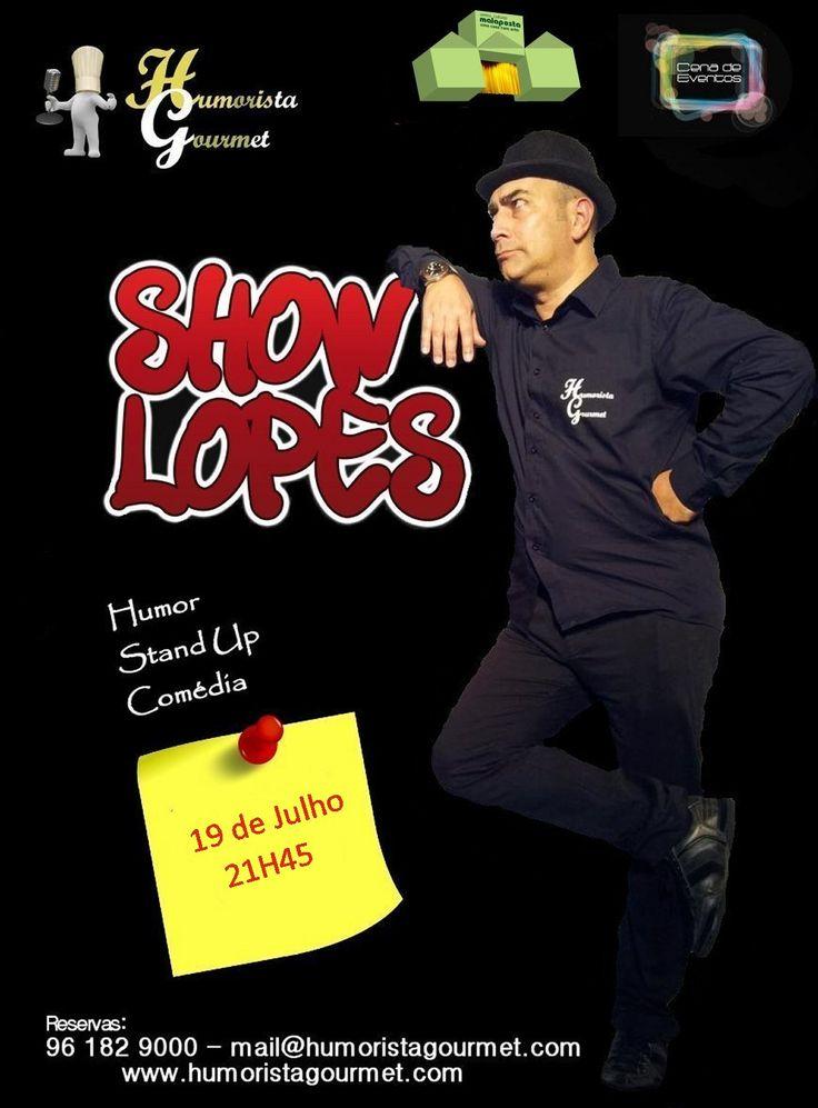 Descontos atavés do Site: www.humoristagourmet.com Um Espetáculo de Stand-Up que é um Show!