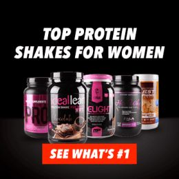 Protein shakes for women reviews