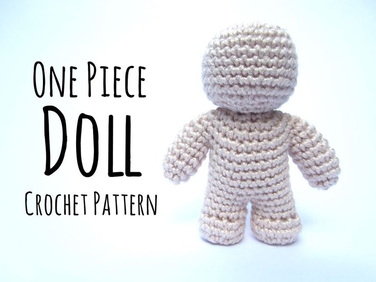 7k1.7k6 Learn how to Crochet Dolls in one-piece without sewing at ...