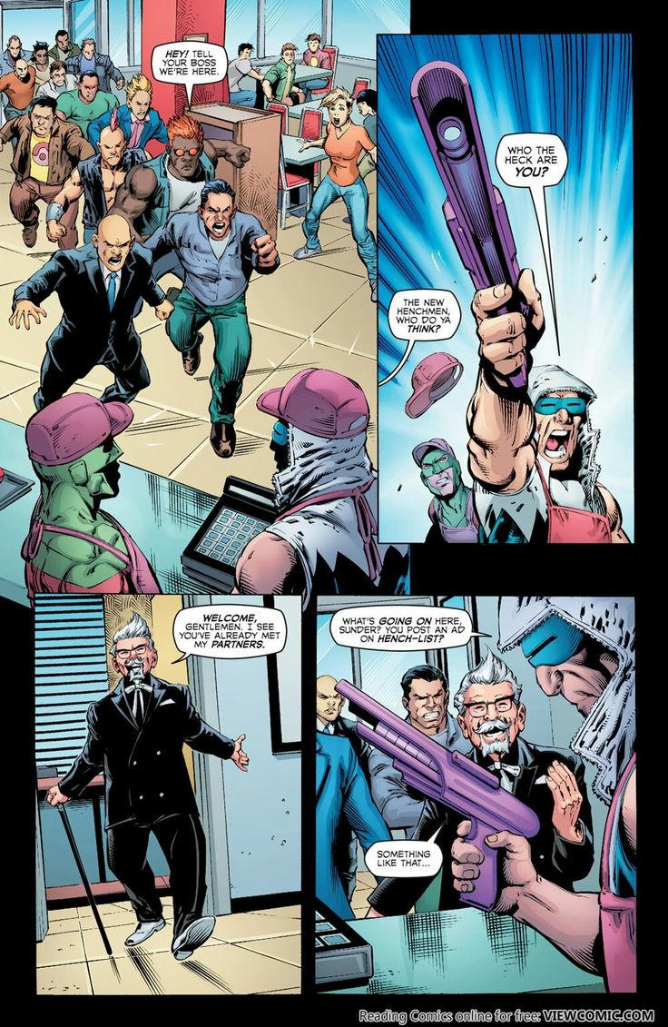 20 best KFC DC Comic Book images on Pinterest | Dc comic books ...