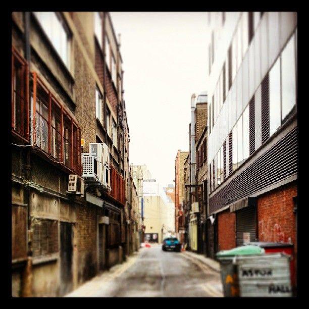 Streets of Dublin where no tourists go