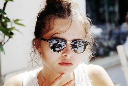 """Helena Bonham Carter at Cannes, 1998."" Repinned from @Sarah Mann."