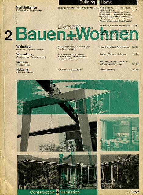 Bauen+Wohnen —  Richard Paul Lohse