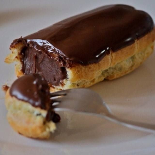 Éclair au chocolat super bon & facile à faire