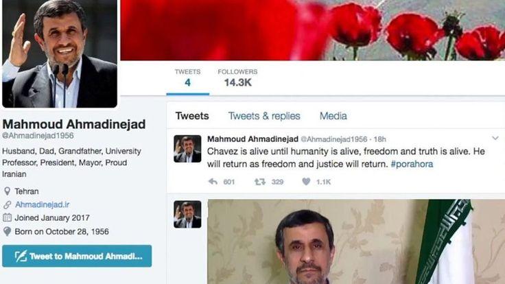 Former Iranian President Mahmoud Ahmadinejad has joined Twitter - despite previously banning it.