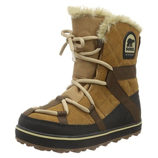 Sorel Glacy Explorer Shortie, Botas de Nieve para Mujer (3 725 UAH) ❤ liked on Polyvore featuring accessories and sorel