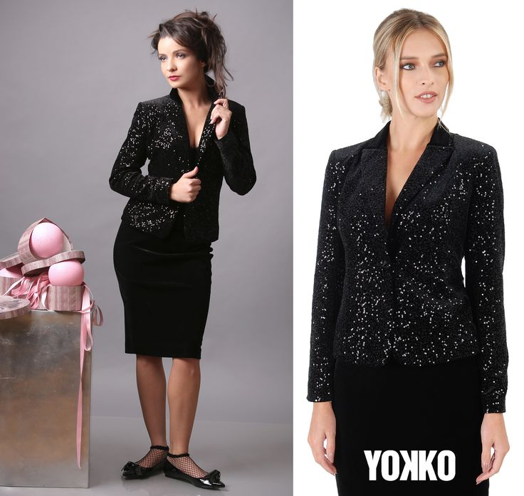 Life isn't perfect, but your outfit can be! #party #velvet #sequins #yokko #madeinromania