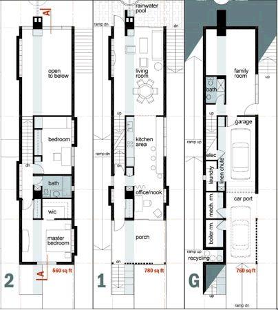 narrow house plan designs arts amazing house ideas design 29225 - Narrow House Plans