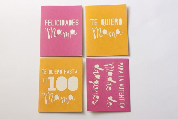 DIY: Tarjetas troqueladas para el Día de la Madre + imprimibles como plantilla