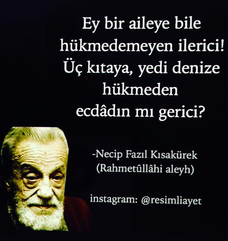 NECİP FAZIL KISAKÜREK....