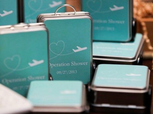 """Operation Shower ®  -- """"Baby Shower in a Box""""  for Military Families whose spouses are deployed."""