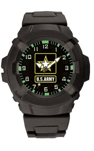 Aqua Force US Army Logo 47mm Diameter Quartz Watch, Black with Black Face $25.62 http://roksmu.blogspot.com/2014/07/army-watch.html